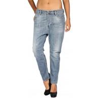 Diesel Damen Jeans Eazee Relaxed Boyfriend 0828W - Blau - 27W x 32L Bekleidung