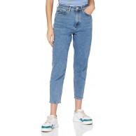 ONLY Damen Onlkate Life Hw Mom Lb Crop An DNM JNS Jeans Bekleidung