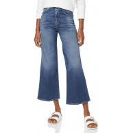 7 For All Mankind Damen Lotta Cropped Luxe Vintage Pacific Grove Flared Jeans Bekleidung