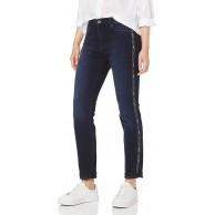 Brax Damen Shakira S Free to Move Five Pocket Skinny Sportiv Jeans Blau Used Dark Blue 23 38K Bekleidung
