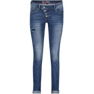 Buena Vista Damen Jeans Malibu Loose Fit Bekleidung
