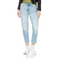 G-STAR RAW Damen Jeans Lanc 3d High Waist Straight Ripped Bekleidung