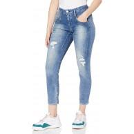 Herrlicher Damen Shyra Cropped Denim Stretch Jeans Bekleidung