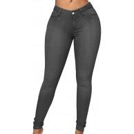 High Waist Jeans Damen Jeanshosen Damen Skinny Jeans Hose Hohe Taille Damen Denim Jeans Relaxed Lang Damen Stretch Enge Slim Fit Fitness Jeans Leggings Frauen Große Größe Übergröße Lässige Modern Bekleidung