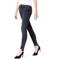 -Marke find. Damen Skinny Jeans mit hohem Bund Bekleidung