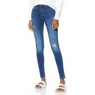 ONLY Damen Onlpaola Hw Sk des Jns Bb Az139941 Noos Skinny Jeans Blau Medium Blue Denim W40 L30 Herstellergröße Large Bekleidung