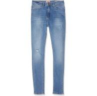ONLY NOS Damen onlPAOLA HIGHWAIST SK JNS BB AZG809 NOOS Skinny Jeans Blau L L30 Bekleidung
