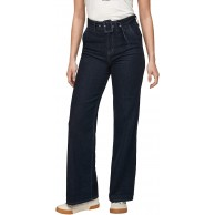 s.Oliver Damen Regular Fit Wide Leg-Jeans Dark Blue 46.30 s.Oliver Bekleidung