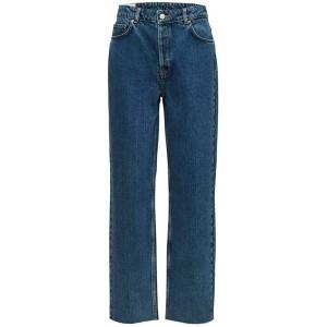 SELECTED FEMME Damen Slfkate Hw Straight Cruz Blue W Jeans Bekleidung