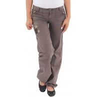 Sotala Damen Boyfriend Jeans Hose Hüfthose Stretchhose Chino Baggy Straight Leg Bootcut Bekleidung