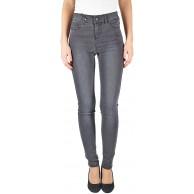 VERO MODA Damen Vmseven Nw Ss Smooth Jeans Dk Grey Noos Hose Bekleidung