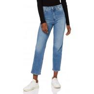 Wrangler Damen The Retro Straight Jeans Bekleidung