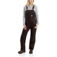 Carhartt Damen Quilt Lined Washed Duck Bib Overall Arbeitsanzug Bekleidung