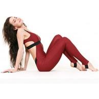 Fliegend Damen Sommer Jumpsuit Yoga Fitness Overall Sport Bodysuit Rückenfrei Playsuit Sportanzug Jogging Hosenanzug Trainingsanzug S-XL Bekleidung