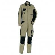 Cofra V056-0-00.Z46 Arbeitsanzug Marseilles Schlamm Grau Schwarz 46 Bekleidung