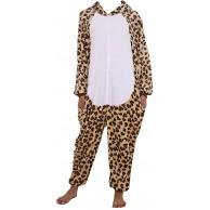 ZOLTA Onesie Leopard M Große Cosplay Kostüme Pyjama Erwachsene Bekleidung