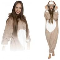 ZOLTA Onesie Rentier M Große Cosplay Kostüme Pyjama Erwachsene Bekleidung