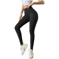 2021 Neue Anti Cellulite Damen Sporthose Damen Slim Fit Hohe Taille Sportshort Lange Leggings mit Bauchkontrolle Shape Leggings Damen SporthoseTrainingshose Yogahose Sportleggins Bekleidung
