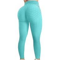Damen Workout Leggings Push Up Tight Scrunch Butt Sporthose Blickdicht Fitnesshose mit Hohe Taille Kompressionsleggings für Yoga Jogging Sport Workout Freizeit Bekleidung