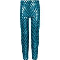 Fashion Mädchen Fischschuppen Meerjungfrau Leggings Bekleidung