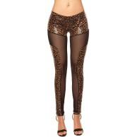 Firstclass Trendstore Leggings mit besonderem Look Gr. S-L Leggins Damen Gogo Clubwear Party Bekleidung