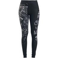 Rock Rebel by EMP Built for Comfort Frauen Leggings schwarz Basics Rockwear Bekleidung