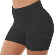 SALUCIA Leggings Damen Sport Shorts High Waist Sporthose Push up Kurze Jacquard Yogahose Yoga Leggins Fitness Gym Jogginghose Hauteng Hosen Tights für Frauen Bekleidung