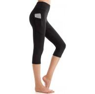 SINOPHANT Yoga Leggings Damen mit Taschen Bauchkontrolle Blickdicht Hohe Taille Sportleggins Yogahose Bekleidung