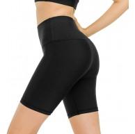 Vertvie Damen Hohe Taille Kurze Leggings Yoga Shorts Fitness Tights Sporthose Blickdicht Laufhose Radlerhose für Joggen Radfahren Gym Vertvie Bekleidung
