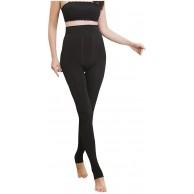 Warm Frauen-Winter Enger Thick Velvet Wolle Kaschmir-Hosen-Hose-Gamaschen Leggings mit Hoher Taille Bekleidung