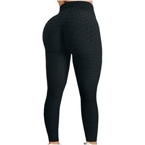 Yoga Hosen für Damen Workout Leggings Damen Push Up Tight Scrunch Butt Sporthose Blickdicht Fitnessleggings mit Hohe Taille Kompressionsleggings Für Yoga Jogging Sport Workout Freizeit Bekleidung