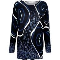 Alba Moda Damen Pullover Viskose Bekleidung