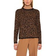 ESPRIT Collection Damen 109Eo1I006 Pullover Schwarz Black 2 002 X-Large Herstellergröße XL Bekleidung