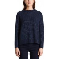 Marc Cain Sports Damen MS 41.53 M39 Pullover Blau Midnight Blue 395 38 Herstellergröße 3 Bekleidung
