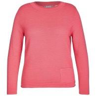 Rabe Pullover mit unifarbigem Design und Rippstrick Bekleidung