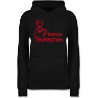 Shirtracer - Sprüche - Kleines Teufelchen - Damen Hoodie und Kapuzenpullover für Frauen Shirtracer Bekleidung