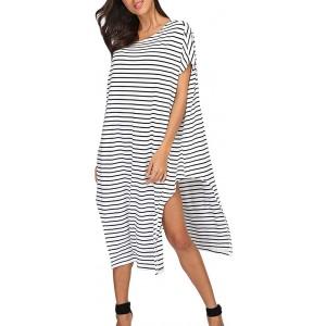 Amphia Damen Elegant Lang Maxikleid Abendkleid Frauen Plus Size Beachwear Beach Wear Bikini vertuschen Kaftan Damen Maxi-Kleid Bekleidung