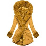 Dasongff Damen Winterjacke Mantel Tops Solide Coat üBerdimensionale Parka Outwear ReißVerschluss Lang Plüschmantel mit Kapuze Strickjacke Felljacke Warme Elegant Overcoat Winter Hooded Bekleidung
