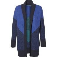 O'Neill Strickjacke Jacke LW Jacquard Cardigan blau geometrisch S Bekleidung