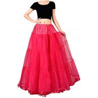 cinnamou 1950 Petticoat Reifrock Unterrock Tütü Tutu Tüllrock Petticoat Underskirt Crinoline für Rockabilly Kleid Bekleidung