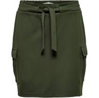 ONLY Damen Onlpoptrash Cargo Belt Skirt PNT Rock Bekleidung