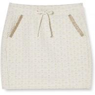 rich&royal Damen Skirt Jersey Jacquard Rock Bekleidung