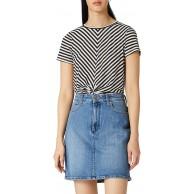 Wrangler Damen Mid Length Skirt Rock Bekleidung