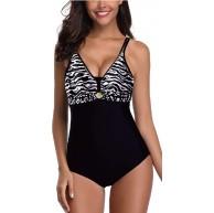 AOQUSSQOA Damen Badeanzüge Monokini Rückenfrei Bademode Swimsuit für Damen Einteiler Badeanzug Bekleidung