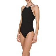 arena Damen Bodylift Badeanzug Therese Light Cross Shapingeffekt Figurformend Schnelltrocknend UV-Schutz Bekleidung