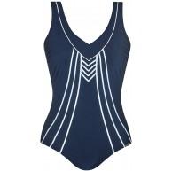 Sunflair Badeanzug Californian Blue Cup E Farbe Nachtblau Größe 48 Bekleidung