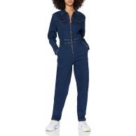 Urban Classics Damen Einteiler Ladies Boiler Suit Klassische Hose Bekleidung