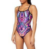 Zoggs Damen Dreamcatcher Deep Scoopback Badeanzug Bekleidung