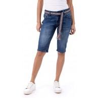 Blue Monkey Jeans Damen Melody Shorts BM-30202 Bekleidung
