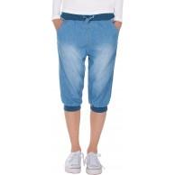 Fraternel Damen Hose Stoffhose Shorts Bermuda Capri Knielang Bekleidung